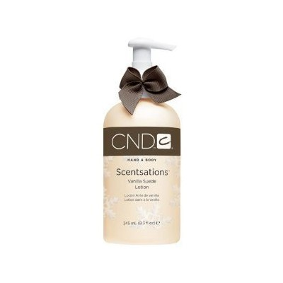 CND Scentsations Holiday Luxury Lotion Vanilla Suede with Hing of Coffee - 8.3 fl. oz. by Creative...