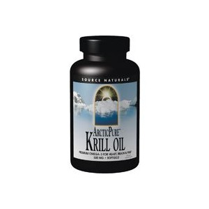 Arctic Pure Krill Oil, 500 MG, 60 Sftgls by Source Naturals by Source Naturals