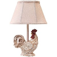 A Homestead Shoppe Chante Claire l2370wh-up1テーブルランプ 12 x 4 x 4 x Inch L2370WH-UP1 1