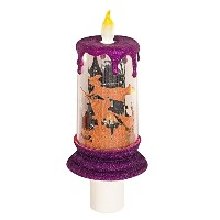 Halloween Candle LED魔女シーンNight Light