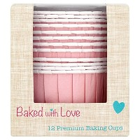 Pink Baking Cups by Baked with Love