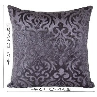 Set of 5 Polyester Cushion Covers 40X40 cm (16X16)