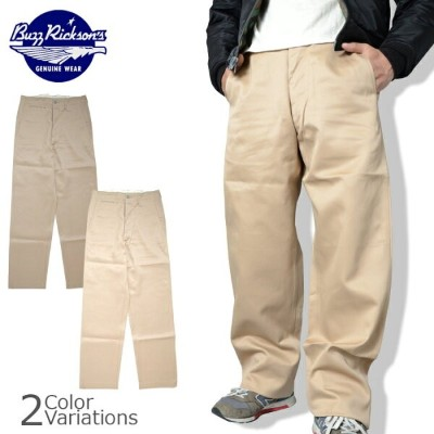 Buzz Rickson's(バズリクソンズ) EARLY MILITARY CHINOS 1942 MODEL アーリー ミリタリー チノ ボトムス M43036