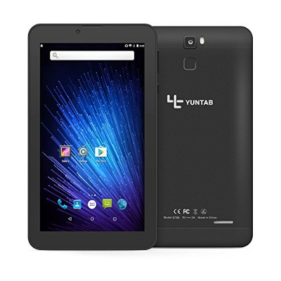 YUNTAB(JP)7インチ タブレットPC E706 tablet android 6.0 クアッドコア 3G通信/GPS/ Bluetooth4.0/WI-Fi/ google play...