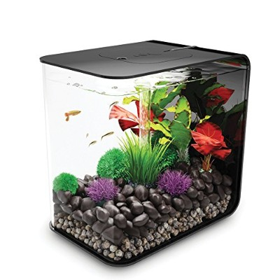 biOrb FLOW 30 Aquarium with LED Light - 8 Gallon, Black by biOrb