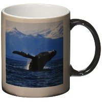 3drose Krista Funk Creations Humpback Whales – Humpback Whale Acrobatics in the Lynn Canal in...