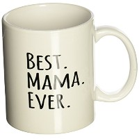 3dローズInspirationzStoreタイポグラフィ – Best Mama Ever – Gifts for Moms – 母ニックネーム – Good For母の日 – ブラックテキスト ...
