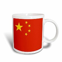 3dローズInspirationzStoreフラグ – Peoples共和国の国旗の中国。Chinese Red with Golden Yellow Stars Patriotic世界国 –...