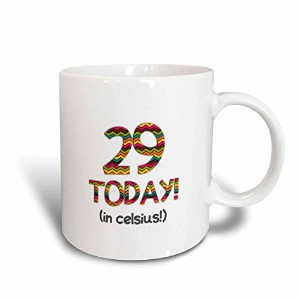 3dローズInspirationzStore – 29 Today。。。in摂氏 – Funny 85th Birthday。29 Cは85 in Fahrenheit – マグカップ 11-oz...