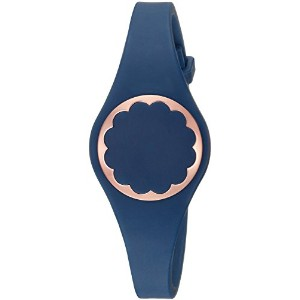 "Kate Spade "" Scallopトラッカー"" Kate Spade New York Navy Scallop Activity Trackerブレスレット"