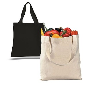 バルク – 12パック – 1ダース – 100 %キャンバスSuper Thick材質12oz。Reusable Grocery Shopping Tote Bags in Bulk – Arts...