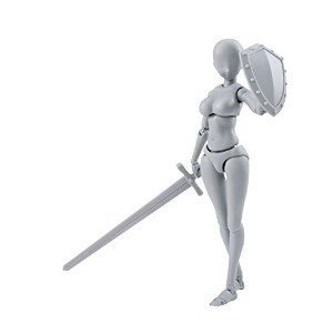 S.H.フィギュアーツ ボディちゃん -矢吹健太朗- Edition DX SET (Gray Color Ver.) 約135mm ABS&PVC製 塗装済み可動フィギュア