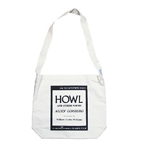 【City Lights Bookstore】 Allen Ginsberg / Howl and Other Poems Shoulder Bag (Natural)