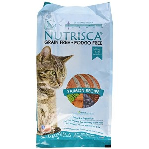 Catswell Nutrisca Grain Free Healthy Salmon Recipe Premium Food for Cats 4lbs
