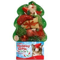 Holiday Cat Toy Filled Christmas Tree by Sergeant's Pet Care Products