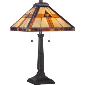 Quoizel TF1427T Tiffany Bryant Table Lamp by Quoizel