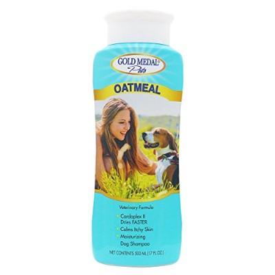 Gold Medal Pets Oatmeal Soothing Shampoo for Dogs, 17 oz. by Gold Medal Pets