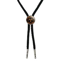 Zombie Outbreak Response Team–オレンジWestern SouthwestカウボーイネクタイBow Bolo Tie