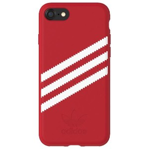 アディダス iPhone 8用Moulded case adidas Originals Royal Red/White 28594 [28594]