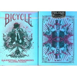 BICYCLE(バイスクル) KARNIVAL(カーニバル) ASSASSINS(アサシン) LIMITED EDITION FOIL CASE トランプ