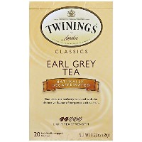 Twinings, Classics, Earl Grey, Naturally Decaffeinated, 20 Tea Bags, 1.23 oz (35 g) (Discontinued...