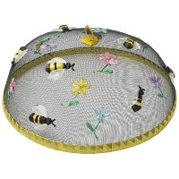 Woodard & Charles Round Bees Food Domes, 14-Inch by Woodard & Charles