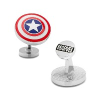 AthenaキャプテンアメリカShield Cuff Links inギフトボックス