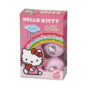 Hello Kitty Ladies The Collection Golf Balls【ゴルフ レディース>ボール】