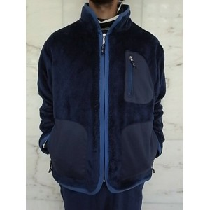 PORTER CLASSIC(ポータークラシック)【BABY FLEECE】BABY FLEECE JACKET★NAVY☆