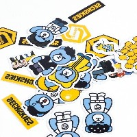 [YN] KRUNK X SECHSKIES STICKER SET kpop goods