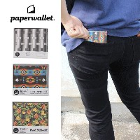 【ポイント10倍】[メール便可] ペーパーウォレット paperwallet 財布 EYE TEST(WAL010EYE) TRIBAL AZTEC(WAL007TRB) PINEAPPLE...