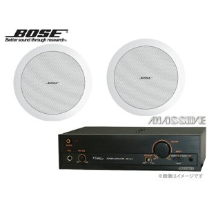 BOSE ( ボーズ ) DS16FW 天井埋込 SP2本セット ( OE-L12 ) ◇ ホワイト【(DS16FWx2+ MASSIVE OE-L12x1)】 [ 送料無料 ]