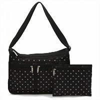 LeSportsac レスポートサック ショルダーバッグ 7507 DELUXE EVERDAY BAGROSE SPECKLE DOT D955 [並行輸入商品]
