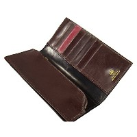 GLENROYAL(グレンロイヤル)03-5594 ●015 (NEW BLACK×CIGAR×BORDEAUX) 長財布 LONG WALLET WITH COVERD ZIP 【...