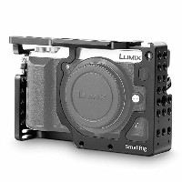 SMALLRIG Panasonic Lumix DMC-GX85/ GX80/ GX7 Mark II専用ケージ(natoレール、シューが付き)DSLR 装備 DSLR Rigs DSLRリグ...