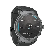 LG Watch Sport Unlocked GSM (Silver/Titan) 日本語対応