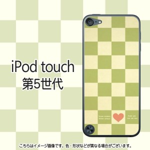 LoveryCheck(グリーン)-iPodtouch5ケース クリスマス