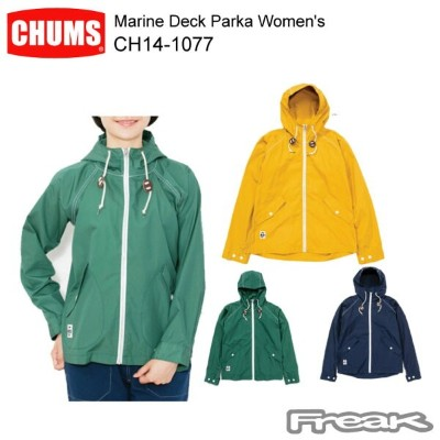 CHUMS チャムス CH14-1077Marine Deck Parka Women's マリンデッキパーカ  ※取り寄せ品