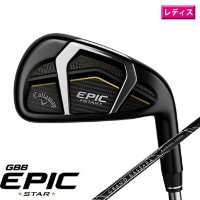 キャロウェイ 2018 WOMEN'S EPIC STAR 単品アイアン (#4/AW/GW/SW) US仕様 Mitsubishi Grand Bassara 55 Graphite Womens...