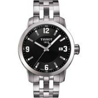 ティソ Tissot 腕時計 メンズ 時計 Tissot Watches Men's PRC 200 Watch (Black)