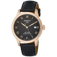 ティソ Tissot 腕時計 メンズ 時計 Tissot T-Classic Automatic Black Dial Mens Watch T0064073605300