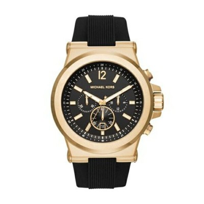 マイケルコース Michael Kors メンズ 腕時計 時計 Michael Kors Men's Black Watch MK8445