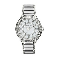 マイケルコース Michael Kors レディース 腕時計 時計 Michael Kors MK3311 Ladies Kerry Silver Watch