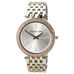 マイケルコース Michael Kors レディース 腕時計 時計 Michael Kors Women's Darci Tri-Tone Watch MK3203