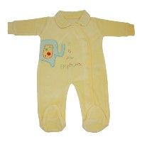 Lollipop Lane Tiddly Wink Safari Luxury All In One Baby Grow (0 - 3 Months)