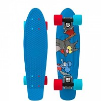 """Penny Skateboards ペニー LIMITED EDITION SIMPSONS ITCHY & SCRATCHY 22"""" PNYCOMP22379/ミニクルーザー"""