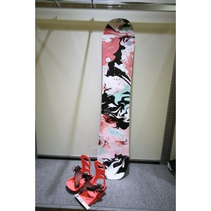 K2 SNOWBOARDING [ GIRLS GROM PACKAGE PACKAGE Bタイプ @56160] キッズ スノーボード 3点セット(ブーツ21~25cm)安心の正規輸入品