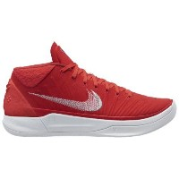(取寄)Nike ナイキ メンズ コービー A.D. バスケットシューズ Nike Men's Kobe A.D. University Red Metallic Silver White