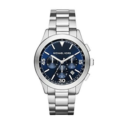 マイケルコース Michael Kors メンズ 腕時計 時計 Michael Kors Men's Gareth Silver-Tone Watch MK8451