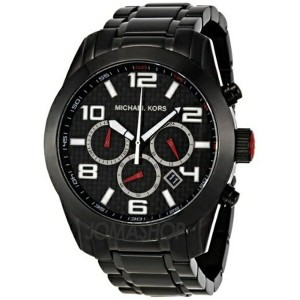 マイケルコース Michael Kors メンズ 腕時計 時計 Michael Kors Dash Chronograph Black Ion-plated Mens Watch MK8219